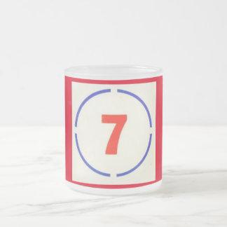 Circle 7 Frosted Mug