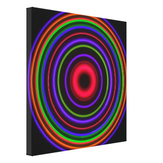 CIRCLE #7 - Stretched Canvas Print
