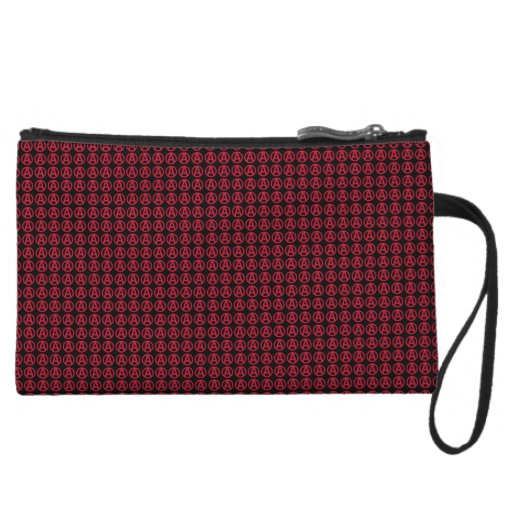Circle A Anarchy Is Order Wristlet Clutch