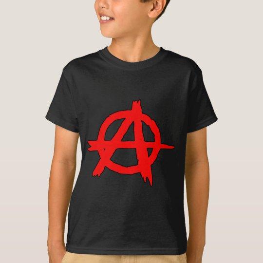 Circle A Anarchy Symbol Anarchist Anarchism T-Shirt