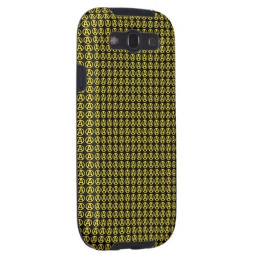 Circle A Phone Case Samsung Galaxy SIII Cover