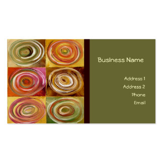 Circle Abstract Business Card