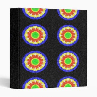 Circle abstract pattern binder