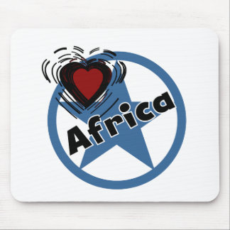 Circle Africa Mouse Pad