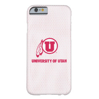 Circle and Feathers University of Utah Barely There iPhone 6 Case