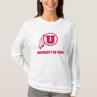 Circle and Feathers University of Utah T-Shirt