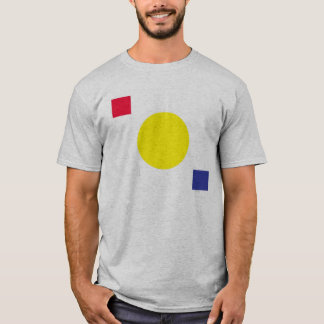 Circle and Squares Primary Colors Shirt