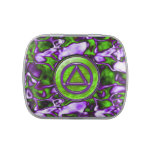 CIRCLE AND TRIANGLE SOBER RECOVERY Candy Tin
