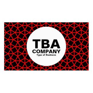 Circle - Archimedes Pattern Business Card