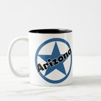 Circle Arizona Two-Tone Coffee Mug