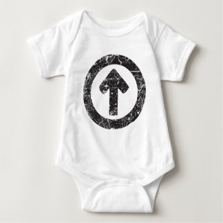 Circle Arrow Baby Bodysuit