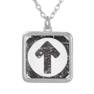 Circle Arrow Pendant