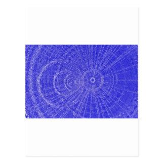 Circle Art Postcard