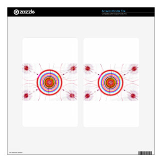 Circle Art Decals For Kindle Fire