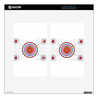 Circle Art Skins For Kindle Fire