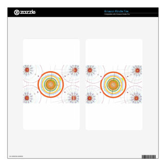 Circle Art Kindle Fire Decal