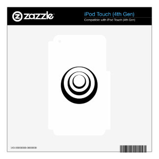 Circle Art Skins For iPod Touch 4G