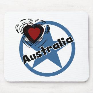 Circle Australia Mouse Pad