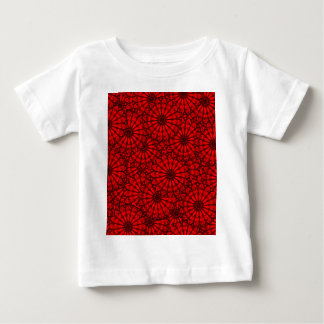 Circle Beautiful Design Style Fashion Fame Floral Baby T-Shirt