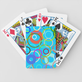 Circle Bicycle Playing Cards
