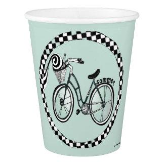 Circle Bike Paper Cup