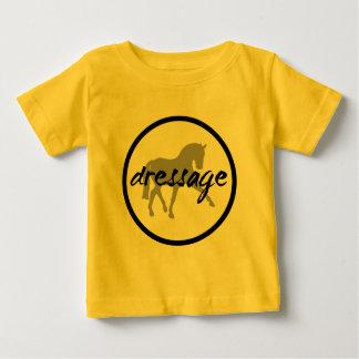 Circle Border Dressage Sidepass Baby T-Shirt