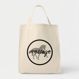 Circle Border Dressage Sidepass Tote Bags