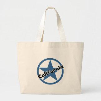 Circle California Tote Bags