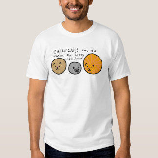Circle Cats Tee Shirt