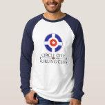 Circle City Curling - Baseball Jersey Shirt