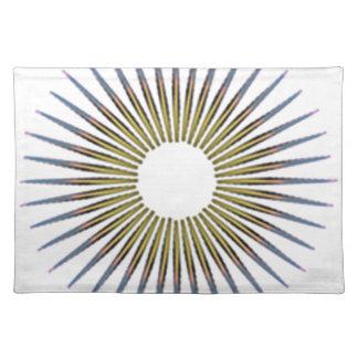 circle cloth placemat
