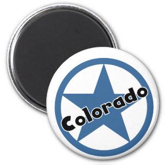 Circle Colorado 2 Inch Round Magnet
