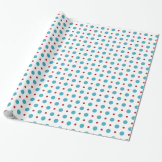 circle colorful patterns wrapping paper
