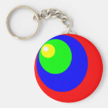 circle colors key chains
