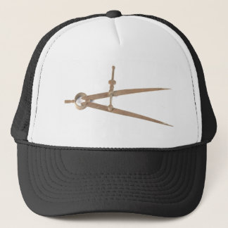 Circle Compass - Measuring Tool Trucker Hat