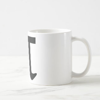 circle constant pi coffee mug