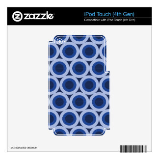 Circle cycle iPod touch 4G decal