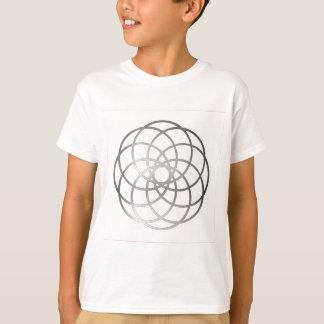 Circle-Desgin-(White) T-Shirt