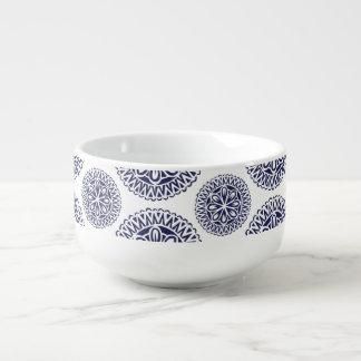 Circle Design Fine China-ish bowl Pattern 2