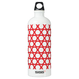 Circle Digital Art Beautiful Design Style Fashion Water Bottle