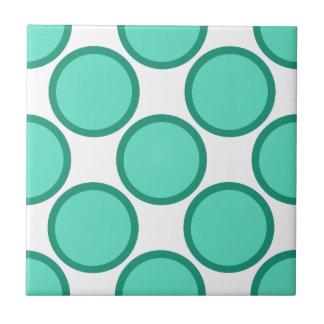 Circle dots design tile