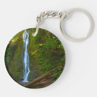 Circle (double-sided) Keychain Waterfall