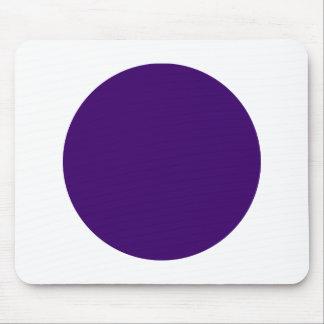 Circle - Dp Purple on White Mouse Pad