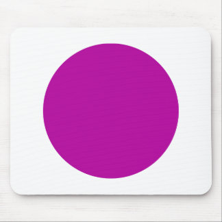 Circle - Dp Violet and White Mouse Pad