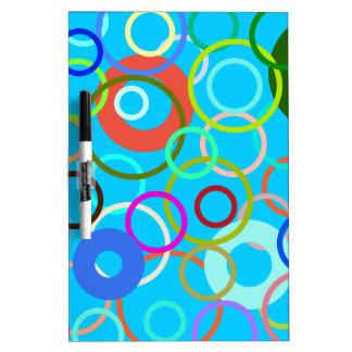 Circle Dry Erase Board