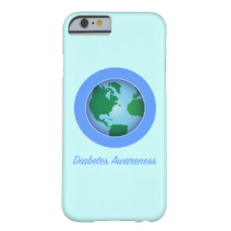 Circle for Diabetes Awareness Barely There iPhone 6 Case