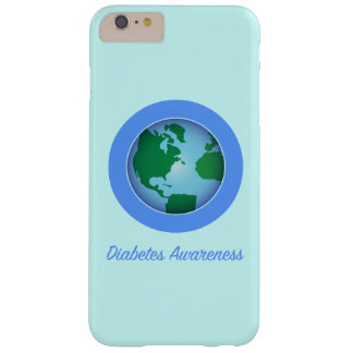 Circle for Diabetes Awareness Barely There iPhone 6 Plus Case