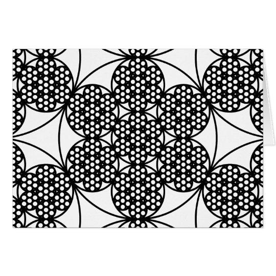 Circle Fractal Card