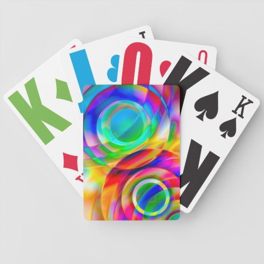 Circle Frenzy Bicycle Playing Cards