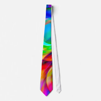 Circle Frenzy Neck Tie